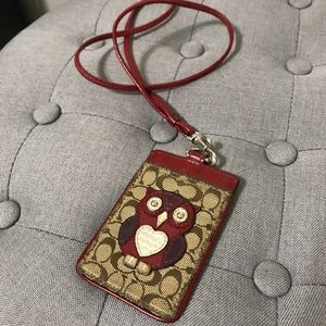 Owl Coach Badge Holder